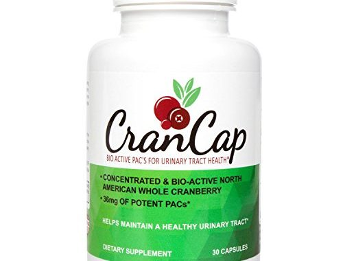 CranCap Cranberry Supplement for Urinary Tract Health | 36mg PAC